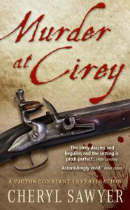 Murder at Cirey_Cheryl Sawyer_Cover and text
