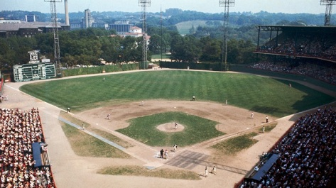 Overview of Forbes Field